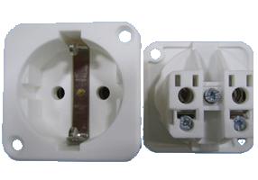 Continental European socket