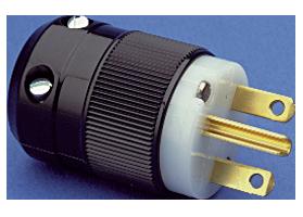 NEMA 6-15 plug