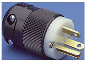 NEMA 6-20 plug