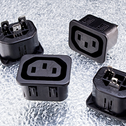 2mm Sheet F Snap-In Outlets