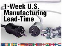 1-week u.s. manufacturing lead-time